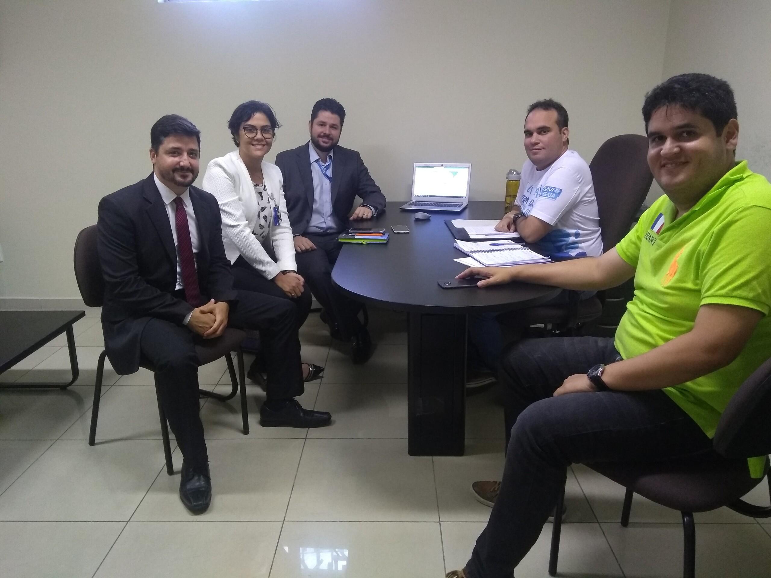 Deputado estadual Davi Maia recebe representantes da Equatorial Alagoas