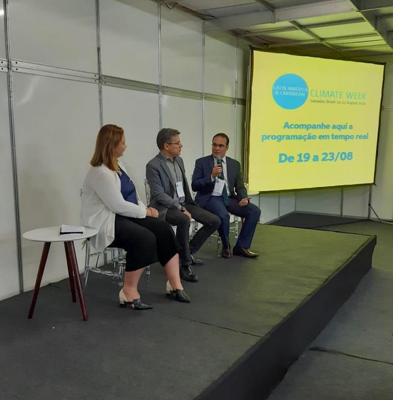 Davi Maia participa de evento internacional sobre Mudanças Climáticas