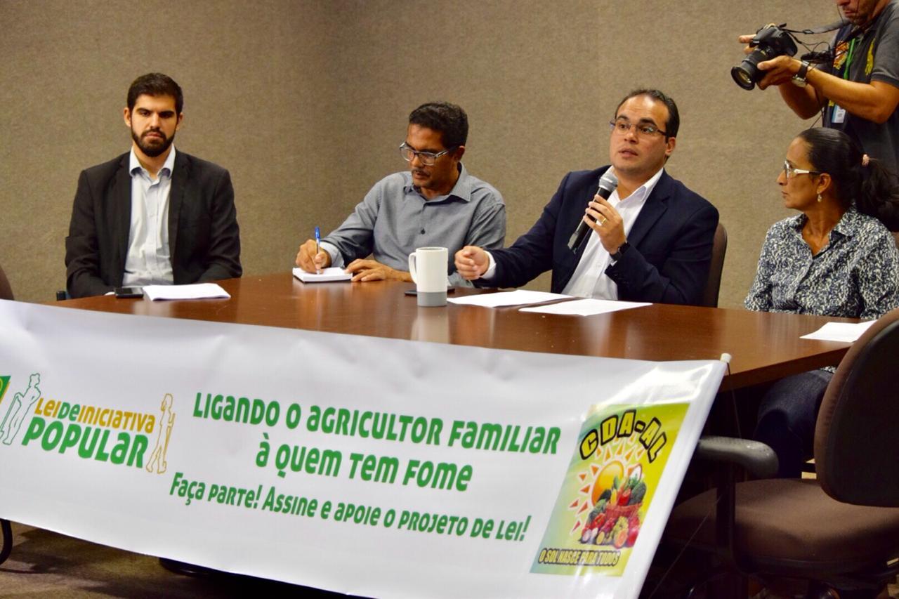 Deputado Davi Maia apoia primeira Lei de iniciativa popular de Alagoas