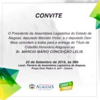 Jornalista Márcio Lelis recebe título de Cidadão Honorário nesta segunda (23)