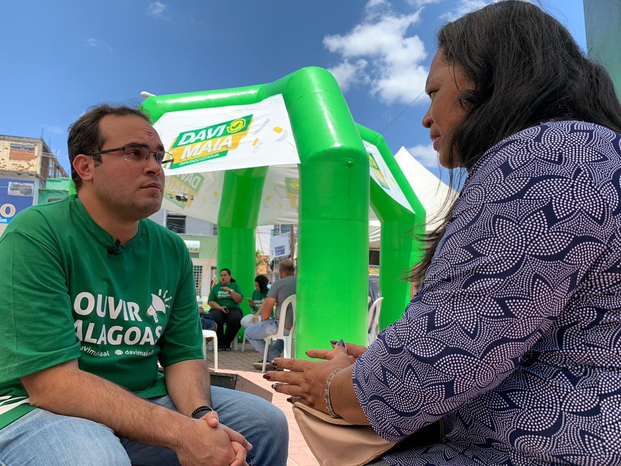 Davi Maia lança projeto para ouvir demandas da população