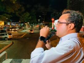 Davi Maia presta contas do mandato em ruas de Maceió