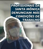 Covid-19: Profissionais da saúde denunciam más condições de trabalho
