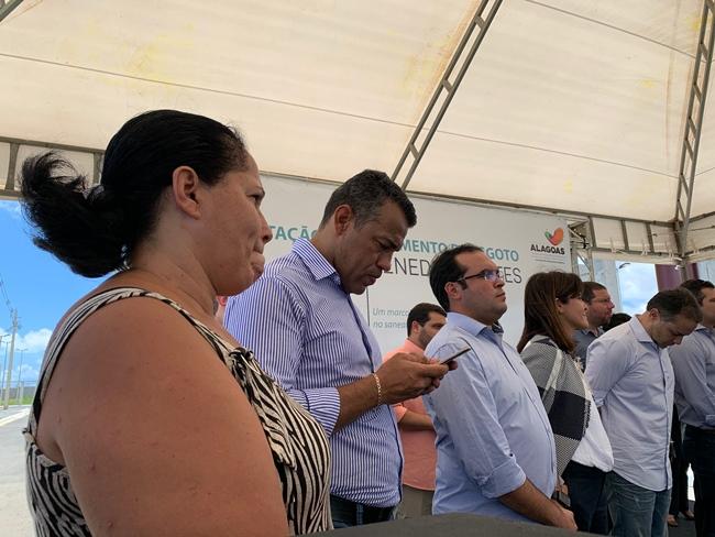 Inauguração Estação de Tratamento de Esgoto do Benedito Bentes