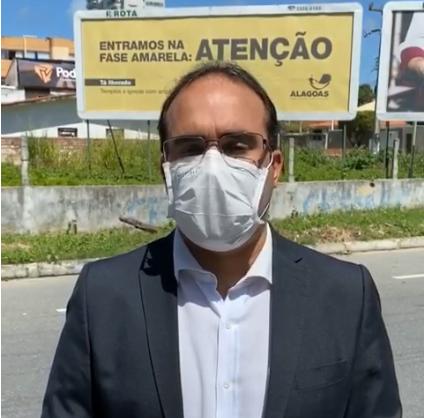 Deputado critica altos valores gastos com propaganda durante a pandemia