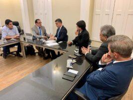 ALE recebe secretário estadual de Turismo e Desenvolvimento Econômico