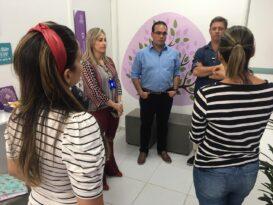 Deputados Davi Maia e Cabo Bebeto visitam Hospital da Mulher