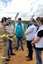 Deputado Davi Maia fiscaliza obra da Mineração Vale Verde, em Arapiraca
